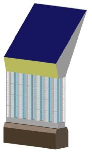 Olympic Torch Wall Module