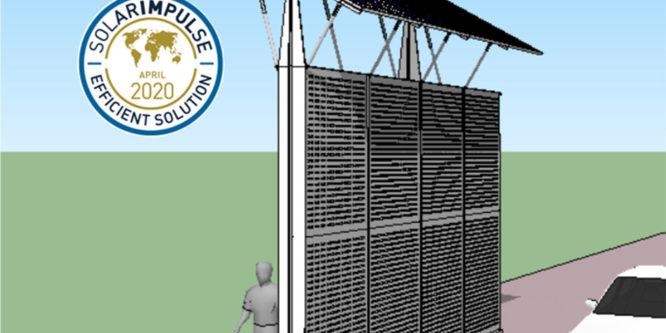 Labellisation Solar Impulse Efficient Solution de notre mur antibruit photovoltaïque SunScreen !