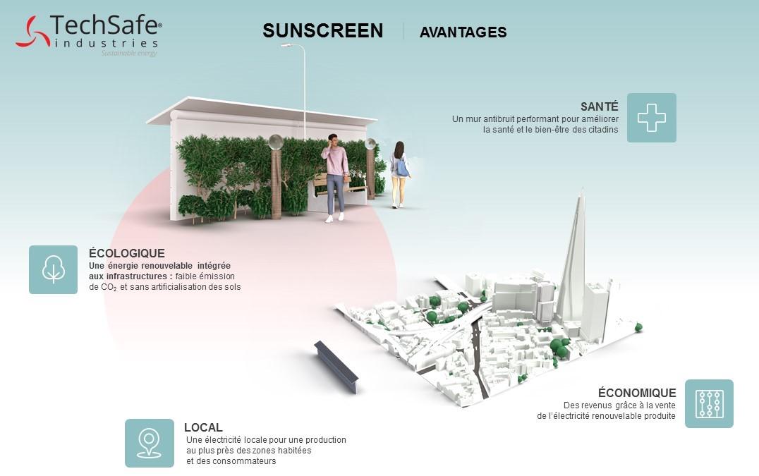Avantages SunScreen